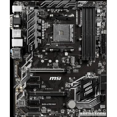 Материнская плата MSI B450-A Pro Max (sAM4, AMD B450, PCI-Ex16)