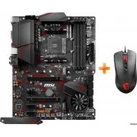 Материнская плата MSI MPG X570 Gaming Plus (sAM4, AMD X570, PCI-Ex16) + Мышь MSI Clutch GM10 USB Black в подарок!
