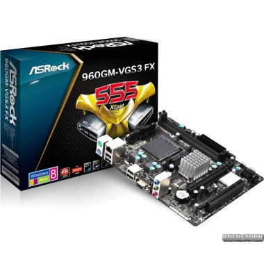 Материнская плата ASRock 960GM-VGS3 FX (sAM3+, AMD 760G, PCI-Ex16)