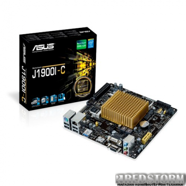 Материнская плата Asus J1900I-C (Intel Celeron J1900, SoC, PCI-E x1)