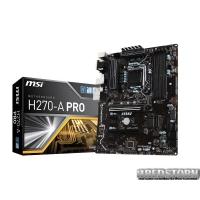 Мат. плата MSI H270-A PRO Socket 1151