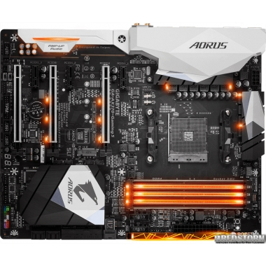 Материнская плата Gigabyte GA-AX370-Gaming 5 (sAM4, AMD X370, PCI-Ex16)