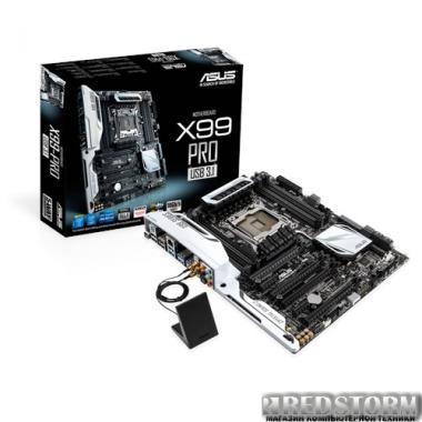 Материнская плата Asus X99-Pro/USB 3.1 (s2011-3, Intel X99, PCI-