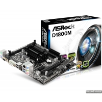 ASRock D1800M (Intel Dual-Core J1800, SoC, PCI-Ex16)