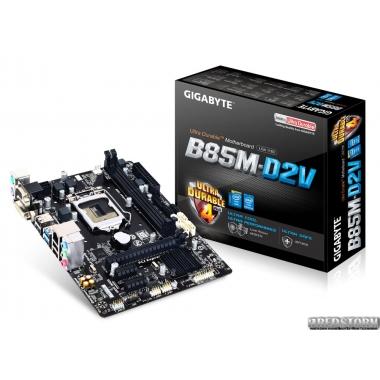 Материнская плата Gigabyte GA-B85M-D2V (s1150, Intel B85, PCI-Ex