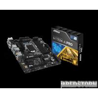 MSI H170M-A PRO (s1151, Intel H170, PCI-E x16)