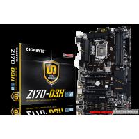 Gigabyte GA-Z170-D3H (s1151, Intel Z170, PCI-Ex16)