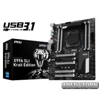 MSI X99A SLI Krait Edition (s2011-3, Intel X99, PCI-E 3.0x16)