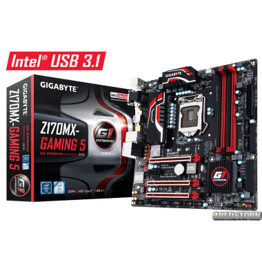 Материнская плата Gigabyte GA-Z170MX-Gaming 5 (s1151, Intel Z170