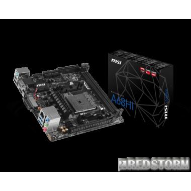 Материнская плата MSI A68HI (sFM2/FM2+, AMD A68H, PCI-Ex16)