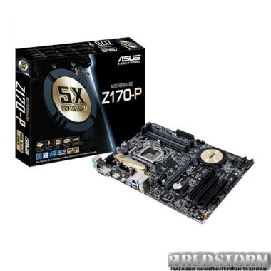 Материнская плата Asus Z170-P (s1151, Intel Z170, PCI-Ex16)