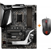 Материнская плата MSI MPG Z390 Gaming Pro Carbon (s1151, Intel Z390, PCI-Ex16) + Мышь MSI Clutch GM10 USB Black в подарок!