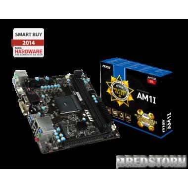 Материнская плата MSI AM1I (sAM1, PCI-Ex16)