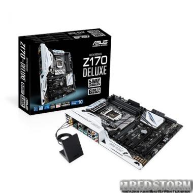 Материнская плата Asus Z170-Deluxe (s1151, Intel Z170, PCI-Ex16)
