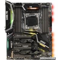 Материнская плата MSI X299 Gaming Pro Carbon (s2066, Intel X299, PCI-Ex16)