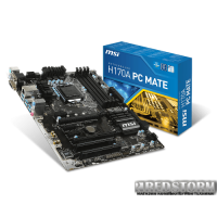 MSI H170A PC Mate (s1151, Intel H170, PCI-Ex16)