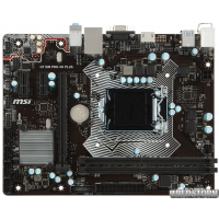 Материнская плата MSI H110M PRO-VH PLUS (s1151, Intel H110, PCI-Ex16)