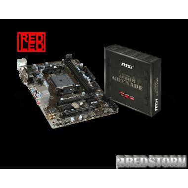 Материнская плата MSI A68HM Grenade (sFM2/FM2+, AMD A68H, PCI-Ex16)