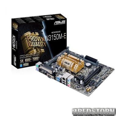 Материнская плата Asus N3150M-E (Intel Celeron N3150, SoC, PCI-Ex16)