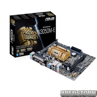 Материнская плата Asus N3050M-E (Intel Celeron N3050, SoC, PCI-Ex16)