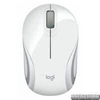 Мышь Logitech M187 Wireless Mini White (910-002735)