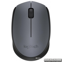 Мышь Logitech M170 Wireless Black/Grey (910-004642)