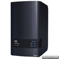 Western Digital My Cloud EX2 Ultra WDBVBZ0000NCH-EESN 2х3.5 USB3.0 LAN External