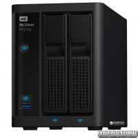 Western Digital My Cloud Pro Series PR2100 WDBBCL0000NBK-EESN 2х3.5 USB3.0 LAN External