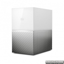 "Накопитель внешний HDD 3.5"" USB/LAN 8.0TB WD My Cloud Home Duo (WDBMUT0080JWT-EESN)"
