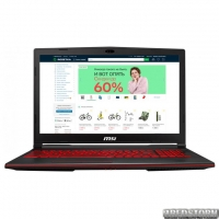 Ноутбук MSI GL63 8SD (GL638SD-656XUA) Black