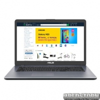 Ноутбук Asus VivoBook 17 M705BA-BX032 (90NB0PT2-M00590) Grey