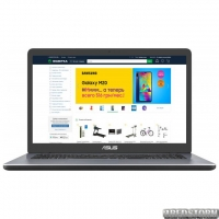 Ноутбук ASUS VivoBook 17 X705QR-GC023 (90NB0MM2-M00330) Star Grey