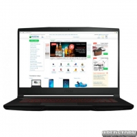 Ноутбук MSI GF63 8SC (GF638SC-099XUA) Black