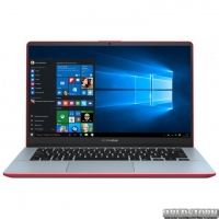Ноутбук Asus VivoBook S14 S430UN-EB113T (90NB0J42-M01410) Starry Grey-Red + фирменный рюкзак и мышь