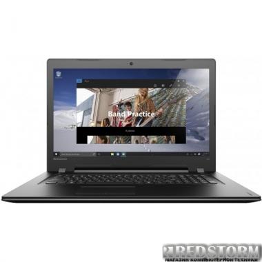 Ноутбук Lenovo IdeaPad 300-17 (80QH003KUA) Black