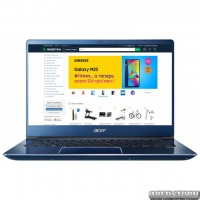 Ноутбук Acer Swift 3 SF314-56-76G5 (NX.H4EEU.030) Stellar Blue
