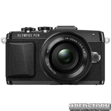Фотоаппарат Olympus E-PL7 14-42 Power Zoom Kit Black