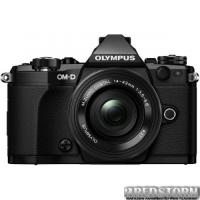 Olympus E-M5 Mark II Pancake Zoom 14-42 Kit Black-Black (V207044BE000)