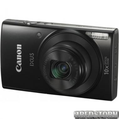 Фотоаппарат Canon IXUS 180 Black (1085C010AA)