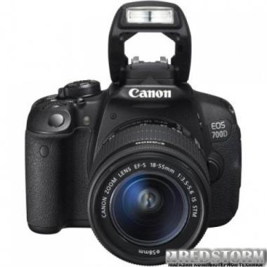 Фотоаппарат Canon EOS 700D 18-55mm DC III
