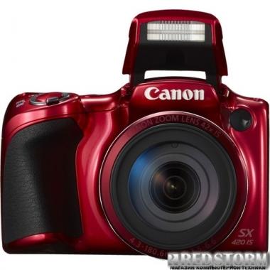 Фотоаппарат Canon PowerShot SX420 IS Red (1069C012AA)