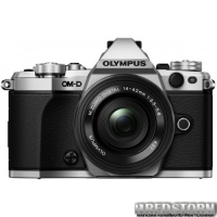 Olympus E-M5 Mark II Pancake Zoom 14-42 Kit Silver-Black (V207044SE000)