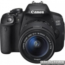 Canon EOS 700D 18-55mm STM + Canon EF-S 55-250mm STM (8596B087)