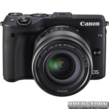 Фотоаппарат Canon EOS M3 18-55 IS STM