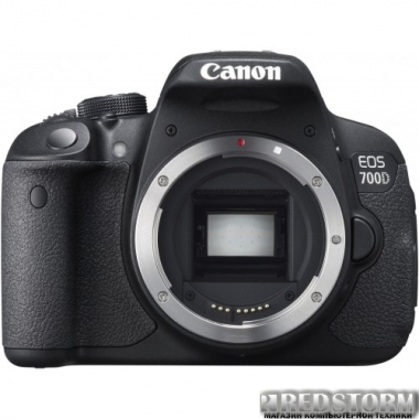 Фотоаппарат Canon EOS 700D Body (8596B021)