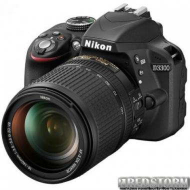 Фотоаппарат Nikon D3300 18-140mm f/3.5-5.6G VR Kit Black (VBA390KV12)