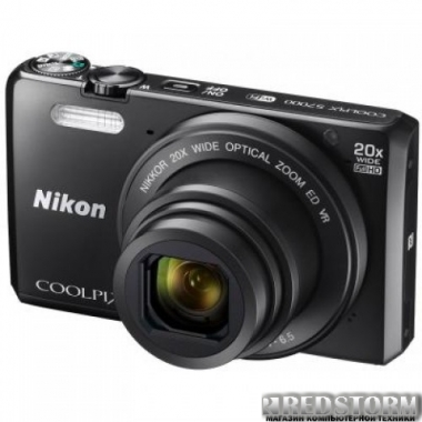 Фотоаппарат Nikon Coolpix S7000 Black (VNA800E1)