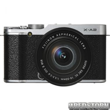Фотоаппарат Fujifilm X-A2 + XC 16-50mm Kit Silver (16455207)