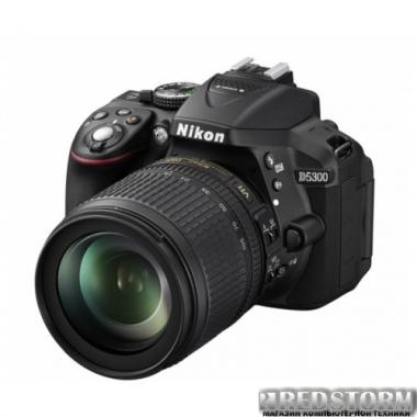 Фотоаппарат Nikon D5300 18-105mm VR Black Kit (VBA370KV04)
