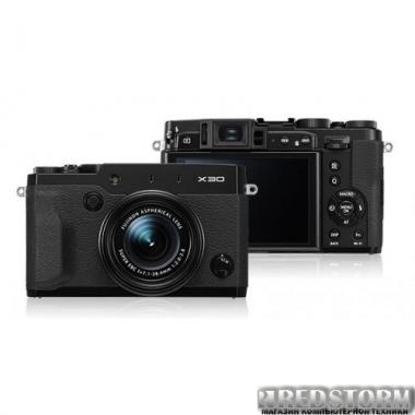 Фотоаппарат Fujifilm FinePix X30 Black (16437621)